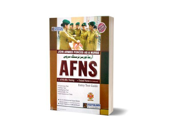 Armed Force Nursing Service AFNS Guide By Dogar Publishers 2020 Ed
