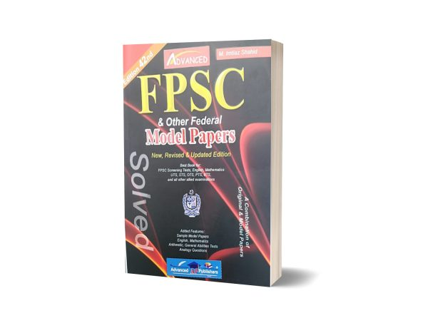FPSC and Other Federal Model Papers Solved By Advanced