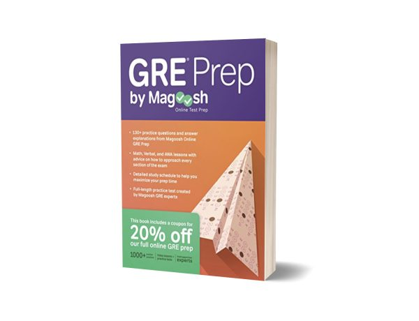 GRE Prep Test Book By Magoosh