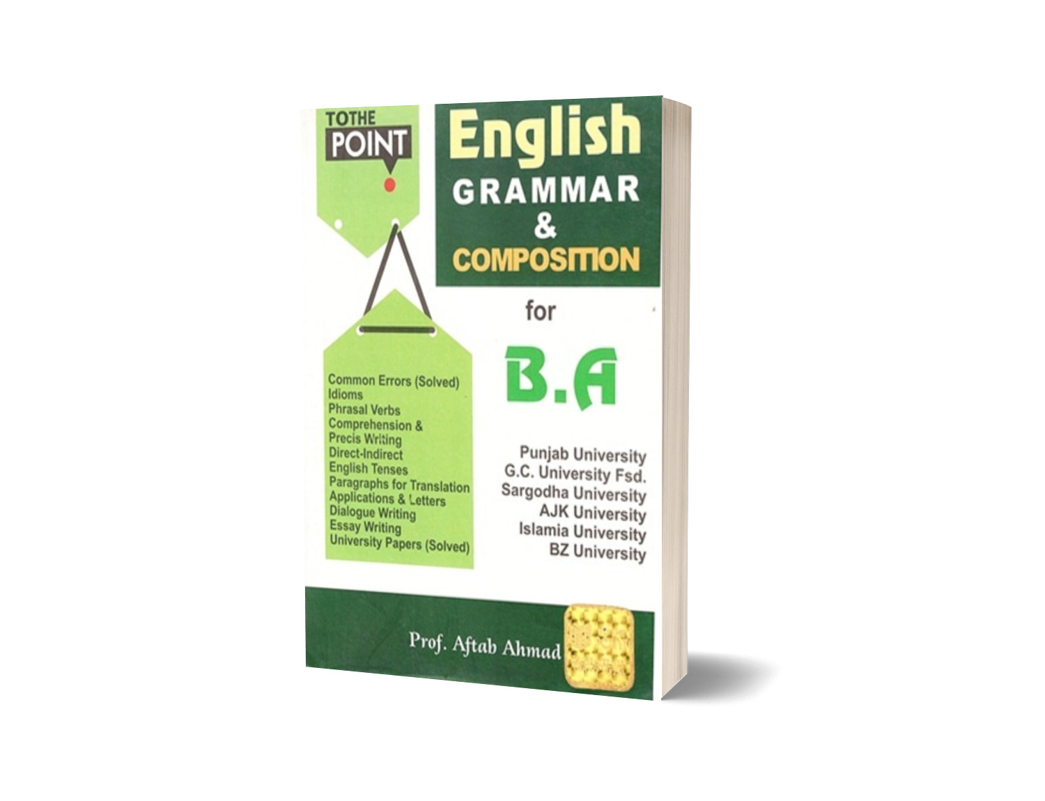 To The Point English Grammar Composition For Ba By Aftab Ahmed