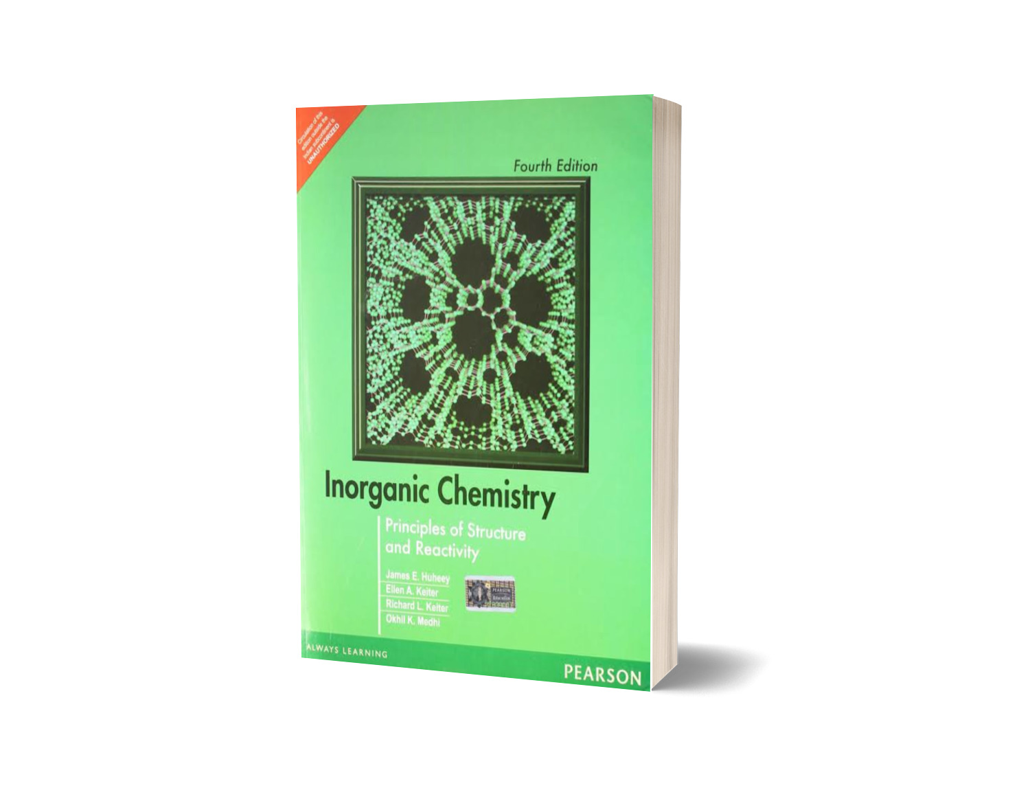 Principles of Structure and Reactivity Inorganic Chemistry 4th Edition