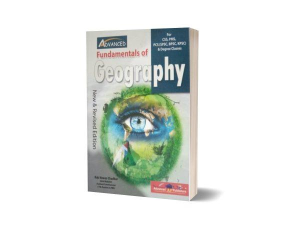 FUNDAMENTALS OF GEOGRAPHY By Rab Nawaz Chadhar – ADVANCED