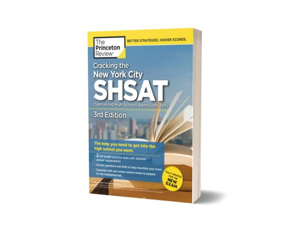 Cracking the New York City SHSAT 3rd Edition By Princeton Review