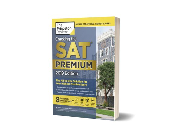 Cracking the SAT Premium Edition with 8 Practice Tests 2019 Edition By Princeton Review
