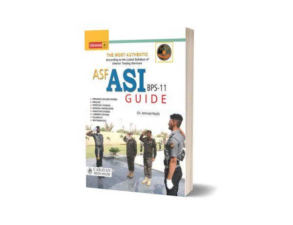 ASF ASI Guide BPS-11 By Ch Ahmad Najib