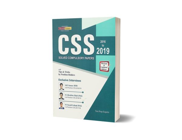 CSS Solved Compulsory Papers 2019 Tips & Tricks By Position-Holders JWT