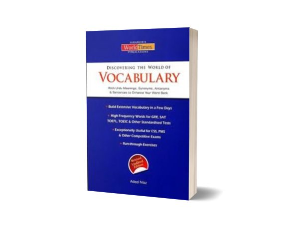 Discovering The World of Vocabulary By Adeel Niaz