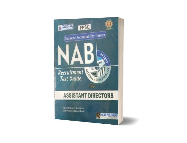 FPSC NAB Assistant Director Guide Book By Dogar Publishers