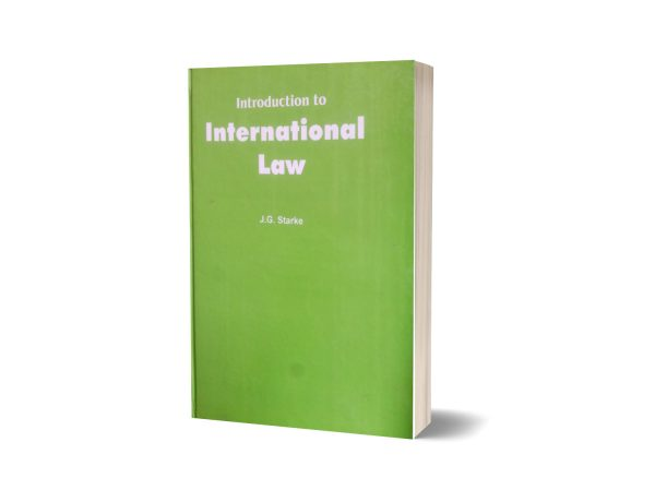 Introduction to international law By J.G Starke