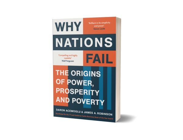 Why Nations Fail Book by Daron Acemoglu and James A. Robinson