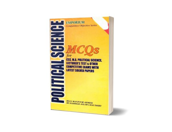 MCQS For Political Science by Mian Manzoor Ahmed M.Aslam Chaudhary Emporium publisher