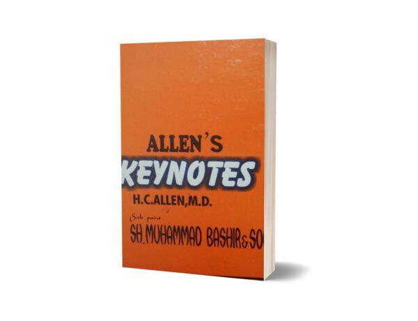 Allen key Notes By Sh. Muhammad Bashir