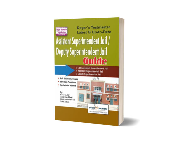 Assistant Deputy Assistant Superintendent Jail Guide By Dogar Brothers