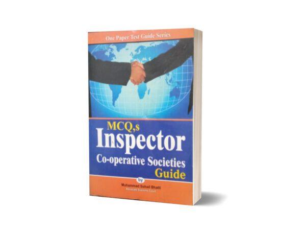 MCQs Inspector Co-operative Societies Guide By Muhammad Sohail Bhatti