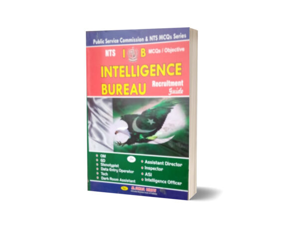 MCQs Objective Intelligence Bureau Recruitment Guide By Muhammad Sohail Bhatti