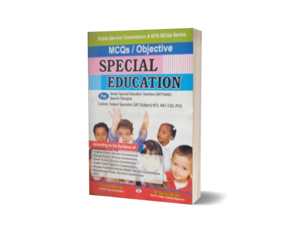 MCQs Objective Special Education For CSS.PMS-NTS By Muhammad Sohail Bhatti