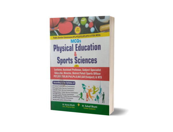 MCQs Physical Education & Sports Science Lecturership.NTS By Muhammad Sohail Bhatti