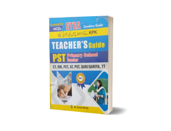 Screening Test MCQs ETTA Combine Guide Teacher Guide By Muhammad Sohail Bhatti
