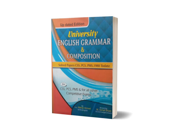 University English Grammar & Composition Solved Paper CSS.PCS-PMS By Muhammad Sohail Bhatti